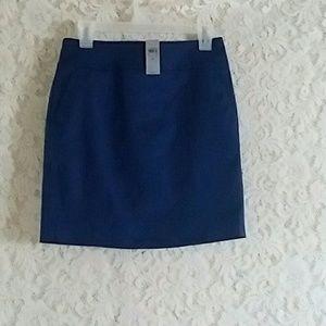 NWT Ann Taylor Navy Pencil Skirt Size 2 Petite
